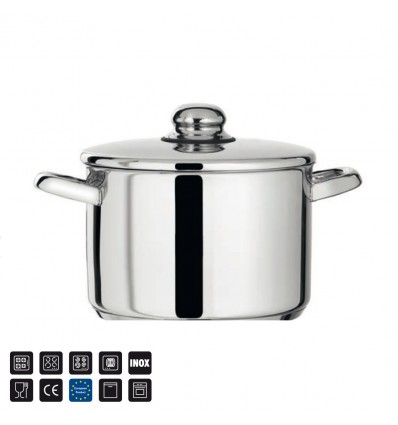 olla alta acero inox Open Chef Home