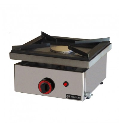cocina profesional gas sobremesa 1 fuego